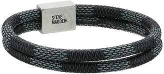 Steve Madden Ombre Textured Braided Leather Bracelet Bracelet