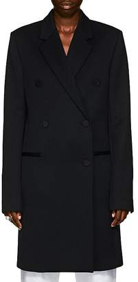 Helmut Lang Women's Wool Twill Double-Breasted Topcoat