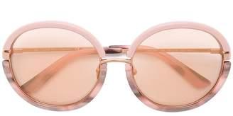 Calvin Klein rose tinted sunglasses