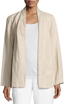 Eileen Fisher Undyed Organic Linen Kimono Jacket $278 thestylecure.com