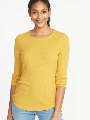 Old Navy Slim-Fit Luxe Rib-Knit Top for Women