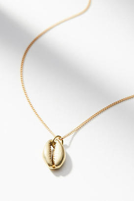 Lena Bernard Delicate Shell Necklace $44 thestylecure.com