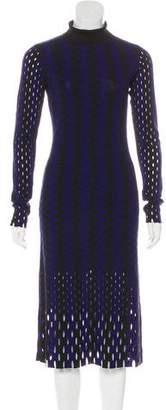 Diane von Furstenberg Wool Patterned Dress