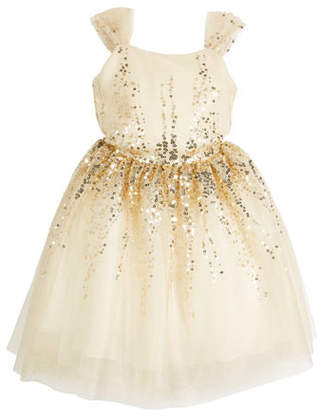 Zoe Elena Ombre Sequin Party Dress, Size 2-6X