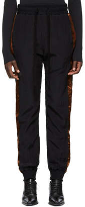 Haider Ackermann Black Silk Sophora Lounge Pants