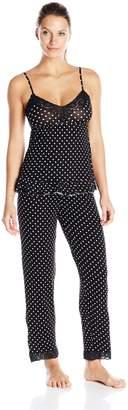 Rene Rofe Women's Sweet- Dreams Long Pajama Set