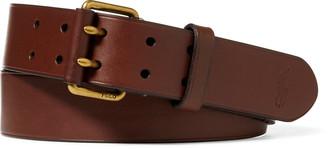 Ralph Lauren Leather Military Belt