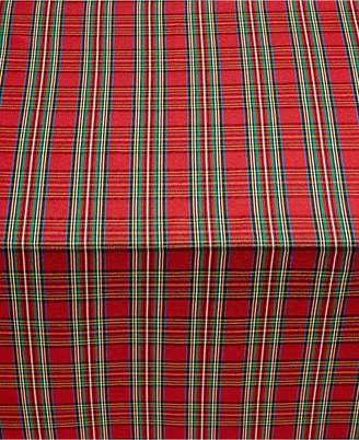 """Lenox Holiday Nouveau Dazzle 60"""" x 120"""" Tablecloth"""