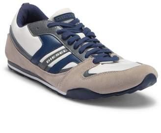 Diesel Long Term Gunner Leather Sneaker