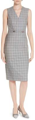 Ted Baker Ted Working Title Ristad Check Sheath Dress
