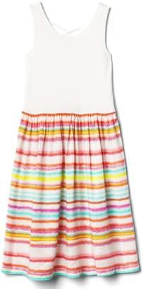 Gap Print skirt tank dress