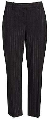 Theory Women's Treeca2 Pinstripe Suit Pants - Size 0