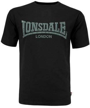 Lonsdale London Men's Logo kai Regular Fit T-Shirt,(Manufacturer size: L)