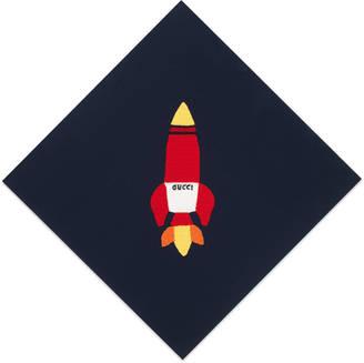 Rocket ship baby blanket $690 thestylecure.com