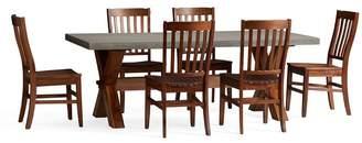 Pottery Barn Rectangular Dining Table Set