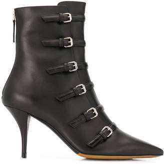 Tabitha Simmons Dash buckled ankle boots