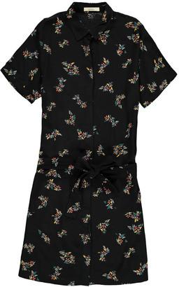 SESSUN Anahi Leaf Shirt Dress $199.20 thestylecure.com