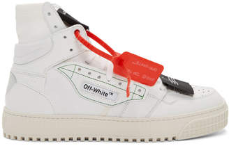 Off-White White Low 3.0 Off-Court High-Top Sneakers