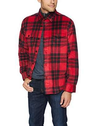 Chaps Men's Classic Fit Microfleece Shirt Jacket