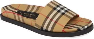 9d64b8df9af116 Burberry Ashmore Slide Sandal