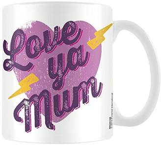 DAY Birger et Mikkelsen Mother's Pyramid International (Love ya Mum) Official Boxed Ceramic Coffee/Tea Mug, Multi-Colour, 11 oz/315 ml