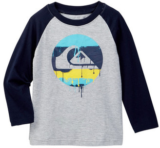 Quiksilver Dripped Raglan Tee (Toddler Boys) $22.50 thestylecure.com