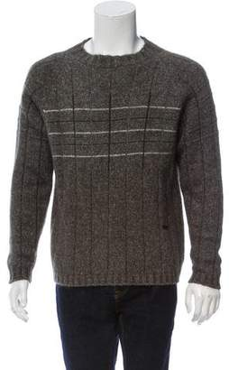 Valentino Wool-Blend Crew Neck Sweater