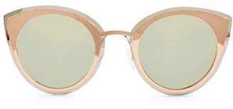 Topshop Poppy Visor Cat Eye Sunglasses