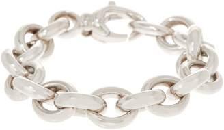NUOVO Oro Bold Oval Rolo Link Bracelet, 14k