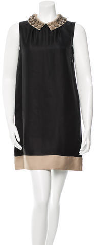 Kate Spade Kate Spade New York Beaded Mini Dress