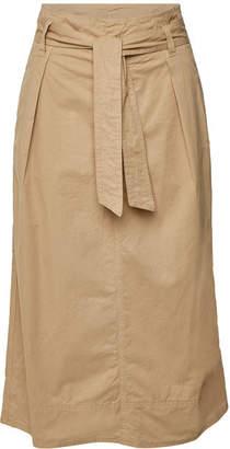 Velvet Bray Cotton Midi Skirt