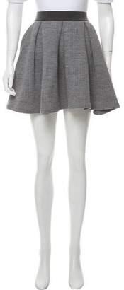 MAISON KITSUNÉ Wool Mini Skirt
