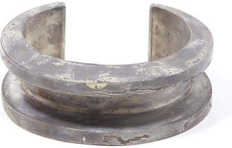 Parts Of Four Crescent channel acid-dipped silver bracelet