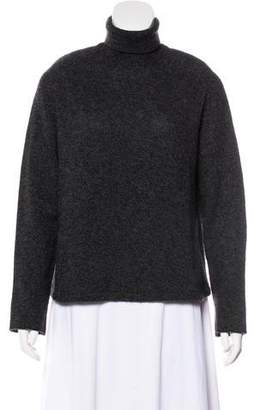 Giorgio Armani Cashmere-Blend Knit Sweater