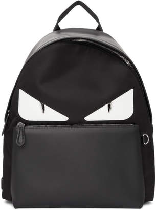 Fendi Black Bag Bugs Backpack