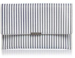 Loeffler Randall Striped Leather Convertible Envelope Clutch - 100% Exclusive
