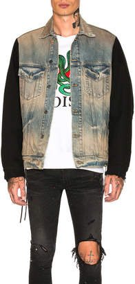 Amiri Two Tone Denim Jacket