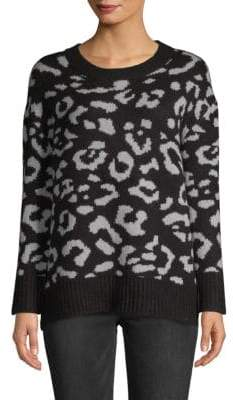 Textured Long-Sleeve Sweater