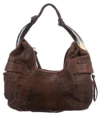 Ghurka Grained Leather Hobo