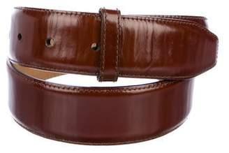 Kieselstein-Cord Leather Belt Strap