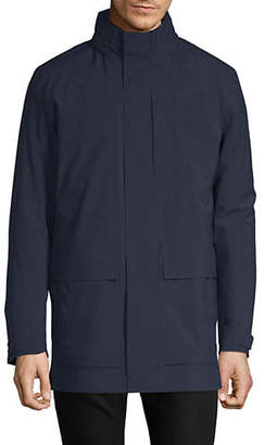 Ermenegildo Zegna 3-in-1 Long-Sleeve Overcoat