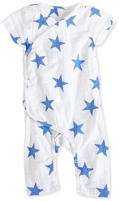 Infant Boy's Aden + Anais Short Sleeve Kimono Romper $24.95 thestylecure.com