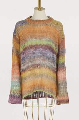 Acne Studios Multicolored wool and alpaca sweater