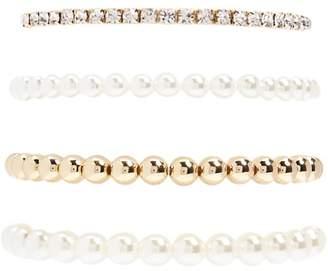 Forever 21 Beaded Stretch Bracelet Set