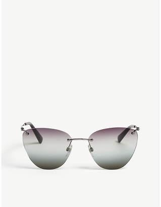 Valentino VA2022 frameless cat-eye sunglasses
