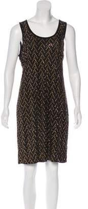 MICHAEL Michael Kors Sleeveless Studded Mini Dress