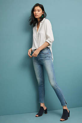 Mother The Swooner Ultra High-Rise Skinny Ankle Jeans
