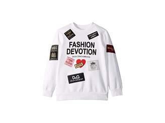 Dolce & Gabbana Fashion Devotion Sweatshirt (Little Kids)