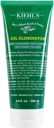 Kiehl's Kiehls Men's Oil Eliminator Deep Cleansing Exfoliating Face Wash