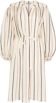 Three Graces Julienne striped midi dress